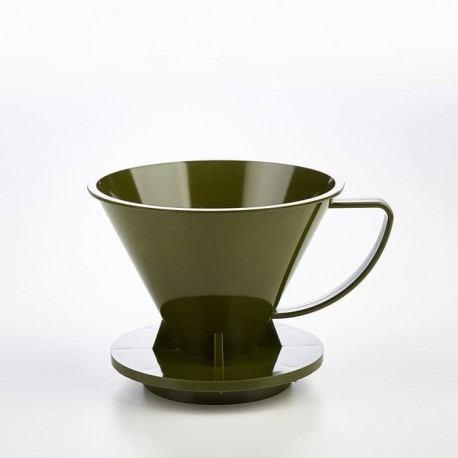 Pourover Dripper 01 Green Army Solid