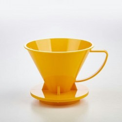Pourover Dripper 01 Yellow Solid
