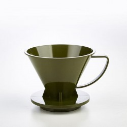 Pourover Dripper 02 Green Army Solid