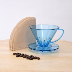 Pourover Dripper 01 with Paper Filter, 40pcs/pak