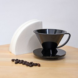 Pourover Dripper 01 with Paper Filter, 100pcs/pak