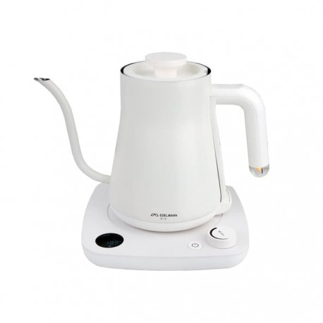Gooseneck Kettle Electric White 600ml EDELMANN