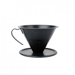 V Coffee Dripper Black EDELMANN
