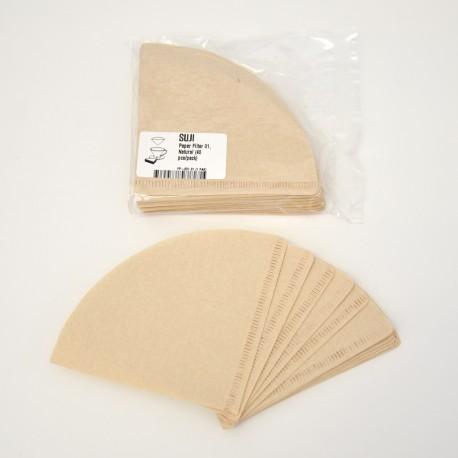 Paper Filter 01, Natural, 40 pcs/pack