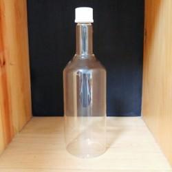Bottle 750 ml, Screw Cap, GL 25, White