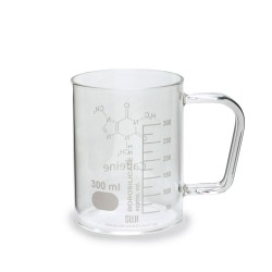 Chemistry Mug 400 ml Logo Caffeine
