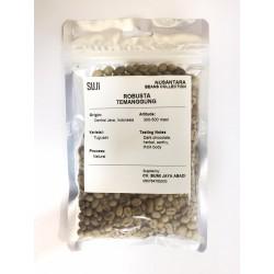 Green Bean Coffee Robusta, Jawa, Temanggung, 125 gr