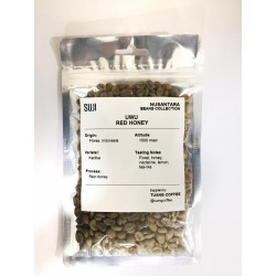 Green Bean Coffee Arabica, Flores, Uwu Red Honey, 125 gr