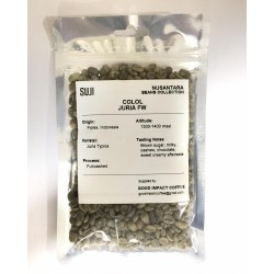 Green Bean Coffee Arabica, Flores, Colol Juria Fullwashed, 125 gr