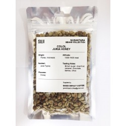 Green Bean Coffee Arabica, Flores, Colol Juria Honey, 125 gr