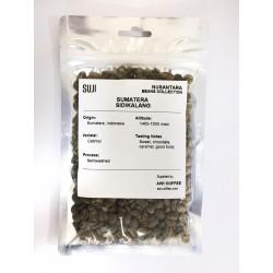 Green Bean Coffee Arabica Sumatera, Sidikalang Semiwashed, 125 gr