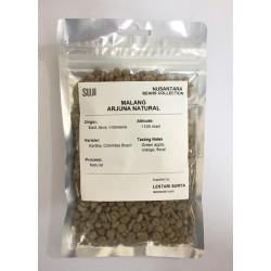 Green Bean Coffee Arabica, Jawa, Malang Arjuna Natural, 125 gr