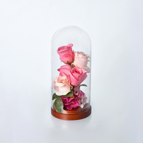 Flower Glass Dome
