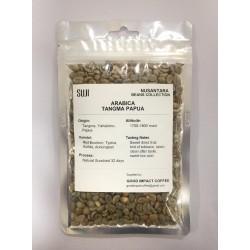 Green Bean Coffee Arabica, Papua, Tangma Natural, 125 gr
