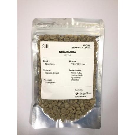 Green Bean Coffee Arabica, Nicaragua, Arabica SHG 125 gr