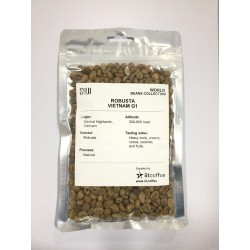 Green Bean Coffee Robusta, Vietnam 125 gr