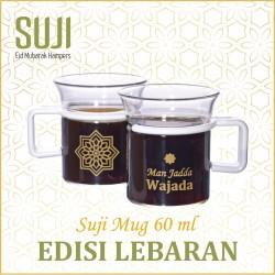 Mug 60, Gagang Plastik, Edisi Arabic Wise Quote Set