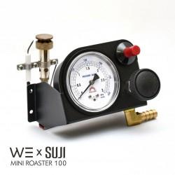 Burner Unit with Precision Manometer, WE x SUJI Mini Roaster 100
