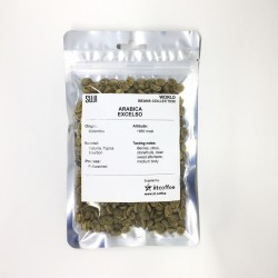 Green Bean Coffee Arabica, Excelso, Colombia, 125 gr