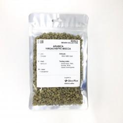 Green Bean Coffee Arabica, Ethiopia, Yirgacheffe Mocca Washed (G2), 125 gr