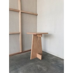 Nakaba Table, merk Wof Wooden