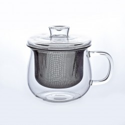 Bella Tea Mug 320 ml with Stainless Infuser