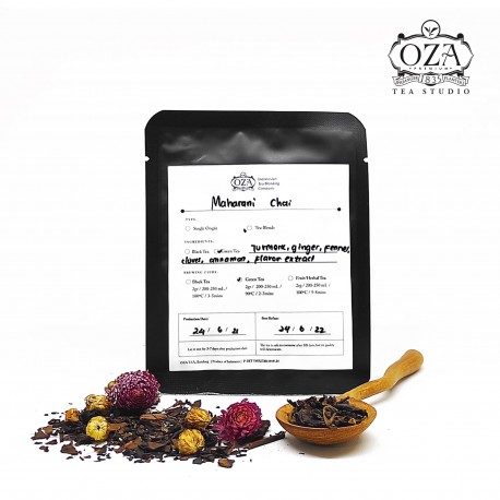 Maharani Chai Pouch 6 gr, Oza Tea, Green Tea