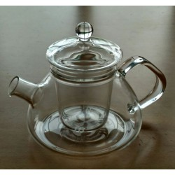 SUJI Rom Teapot 450ml with Glass Infuser