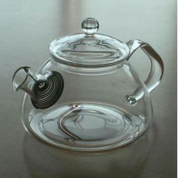 SUJI Rom Teapot 450ml with Stainless Steel Strainer