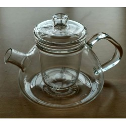 SUJI Shinju Teapot 450ml with Glass Infuser