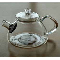 SUJI Shinju Teapot 450ml with Stainless Steel Strainer