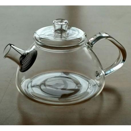 SUJI Shinju Teapot 450ml with Stainless Steel Strainer