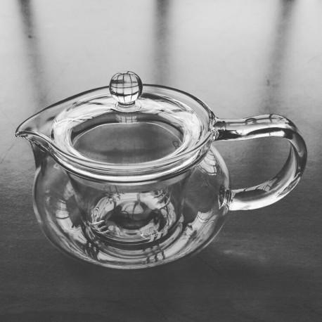 SUJI Kyusu Yunomi Teapot 300ml with Glass Infuser