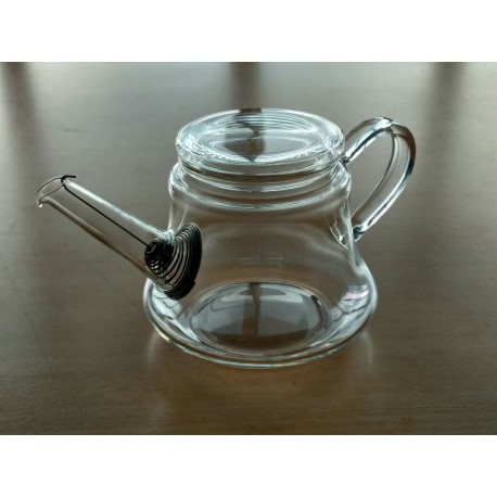SUJI Agathe Teapot 500ml with Stainless Steel Strainer