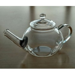 SUJI Danube Teapot 500ml with Stainless Steel Strainer