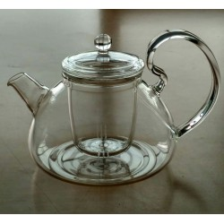 SUJI Maxi Teapot 750ml with Glass Infuser