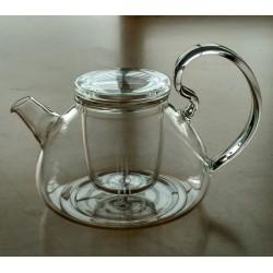 SUJI Massimo Teapot 750ml with Glass Infuser