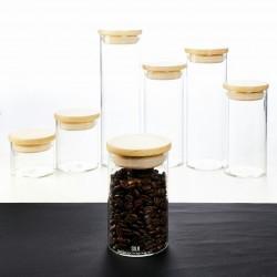 Airtight Glass Canister 70 - 300 ml