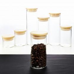 Airtight Glass Canister 70 - 400 ml