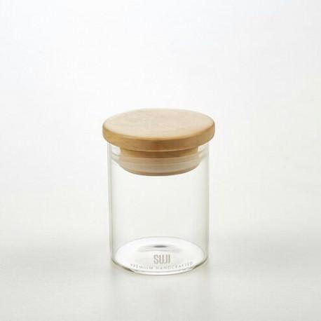 Airtight Glass Canister 55 - 100 ml