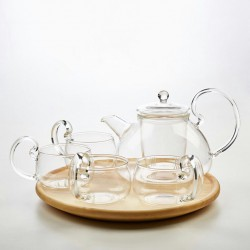 Maxi Teaset with 4 cups