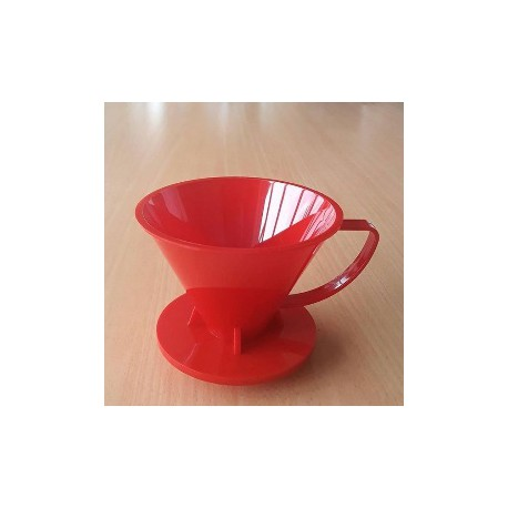 Pourover Dripper 01 Red Solid