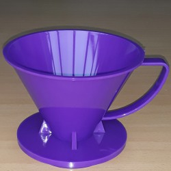 Pourover Dripper 01 Purple Solid