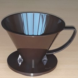 Pourover Dripper 02 Brown Solid