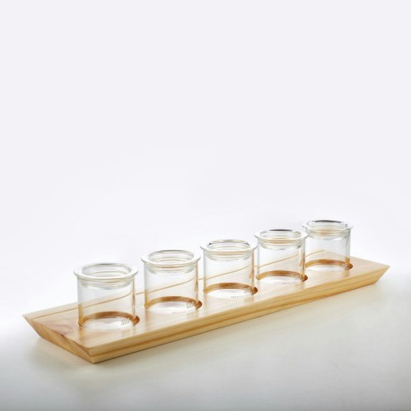 Display Tray System with Canister 50