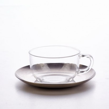 Ruben Cup and Stainless Steel Saucer 250 ml