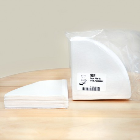 Paper Filter 01, White, 40 pcs/pack