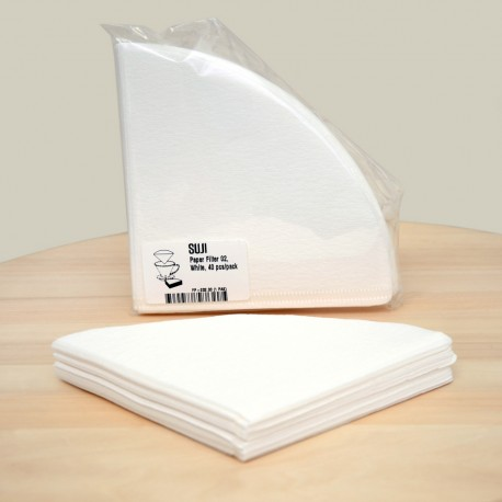 Paper Filter 02, White, 40 pcs/pack