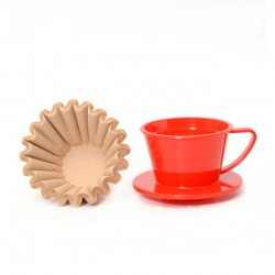 Wave Dripper 155 Red Solid