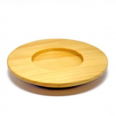 Wood Saucer Ø 140 x 20 mm